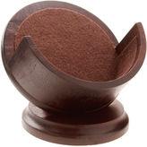 Thirstystone Dark Walnut-Stained Coaster Holder