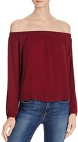 J.o.a. Pleated Off-The-Shoulder Top - 100% Bloomingdale's Exclusive
