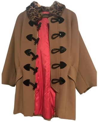 DSQUARED2 Brown Cotton Coat for Women