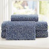 Mini Dot Sheet Set, Queen, Quartz Blush