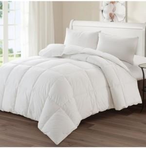 AC Pacific Luxury Goose Down Medium Warmth Comforter, Twin