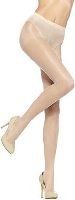 Hue Women's So Sexy French Lace Sheer Control Top Pantyhose (Pack of 3)
