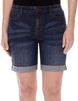 Liz Claiborne Denim Bermuda Shorts - Petite