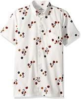 Ben Sherman Men's Short Sleeve Aquarius Archive Shirt