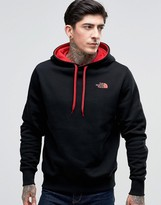 The North Face Hoodie With Hood Logo In Black
