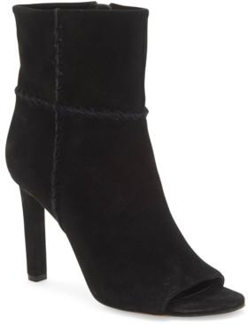 Vince Camuto Sashane Peep-Toe Booties Women's Shoes