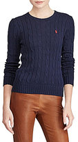 Polo Ralph Lauren Cable-Knit Crew Neck Sweater