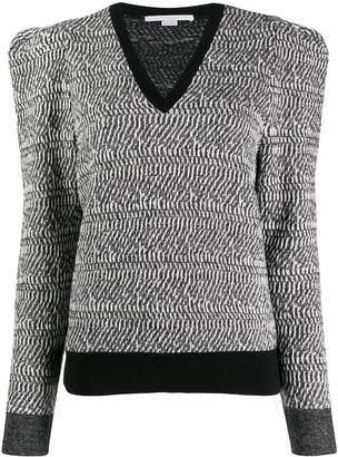 Stella McCartney patterned structured jumper