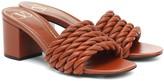 Valentino Garavani The Rope 60 leather sandals