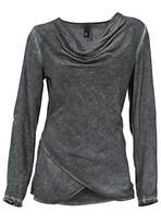Heine Cross-Over Hem Top
