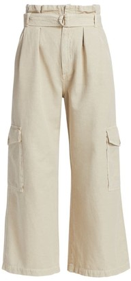 Citizens of Humanity Lizette Paperbag Wide-Leg Pants