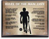 Bed Bath & Beyond Man Cave Rules Plaque