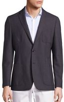 Michael Kors Slim Fit Wool Blazer