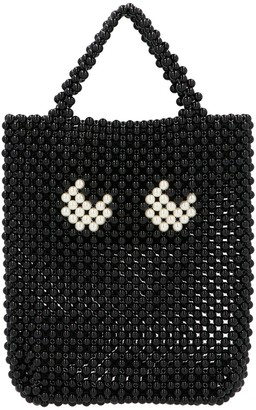 Anya Hindmarch Eyes Beaded Small Tote