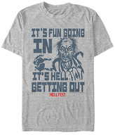 Fifth Sun Men's Tee Shirts ATH - Hell Fest Zombie 'It's Fun Going In It's Hell Getting Out' Tee - Men