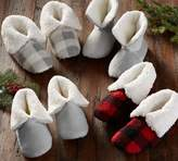 Pottery Barn Cozy Sherpa Booties