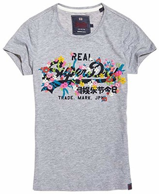 Superdry Women's Vintage Logo Puff Embroidered T-Shirt