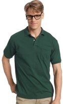 Hanes 5.2 oz.; 50/50 EcoSmart Jersey Pocket Polo - L