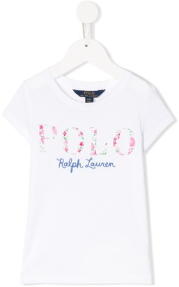 Ralph Lauren Kids appliqué logo T-shirt