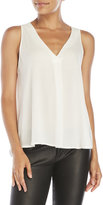 Lush V-Neck Sleeveless Blouse