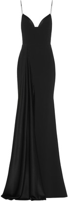 Alex Perry Harlyn satin crepe gown
