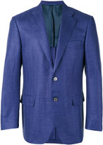 Canali two button blazer - men - Silk/Linen/Flax/Cupro/Wool - 50