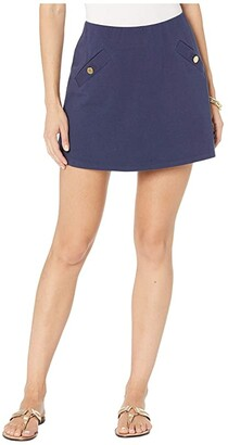 Lilly Pulitzer Madison Skort (True Navy) Women's Skort
