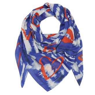 Codello Women's Damen Tuch im aus recyceltem XL Scarf in Batik Design Made from Recycled Polyester