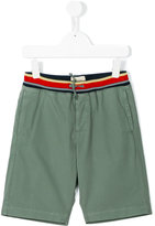 Bellerose Kids - striped waistband shorts - kids - Cotton - 4 yrs