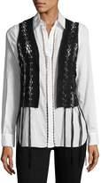 Haute Hippie Women's Solid Straps Vest