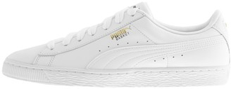 Puma Basket Classic Trainers White