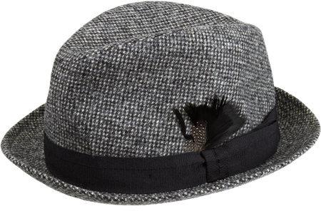 Paul Smith Tweed Trilby Hat