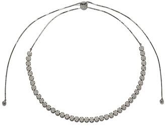 As 29 18k black gold diamond Indiana choker necklace