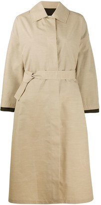 Jil Sander Oversized Layered Belted Trench