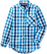 Tommy Hilfiger Melvin Plaid Shirt (Big Boys)