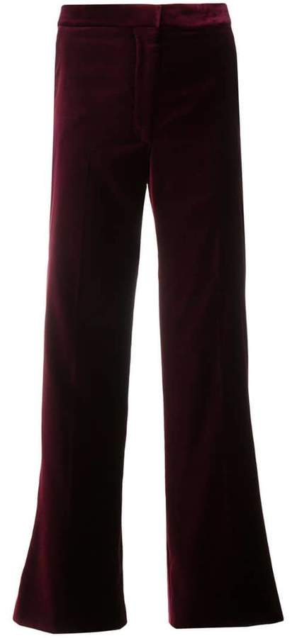 Stella McCartney high-waisted cropped trousers