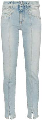 Givenchy visible seam straight-leg jeans