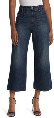 G Star High Rise Wide Leg Jeans