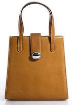 Tiffany & Co. Brown Leather Satchel Handbag