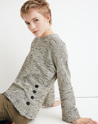 Madewell Texture & Thread Side-Button Top