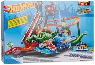 Hot Wheels City Ultimate Gator Car Wash