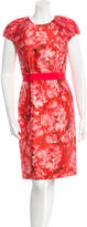 Giambattista Valli Floral Print Sheath Dress