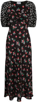 Rixo Cressida floral mini dress