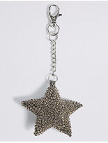 M&S Collection Sparkle Star Keyring