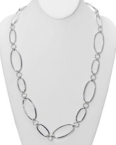Lauren Ralph Lauren Oval Link Necklace, 34""