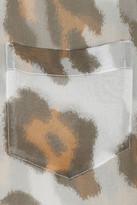 Equipment Brett printed silk-chiffon shirt