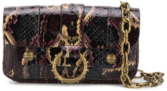 Zadig & Voltaire x Kate Moss water snakeskin-effect wallet