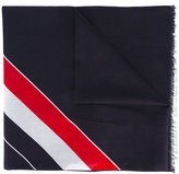 Thom Browne striped scarf - men - Cotton - One Size