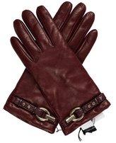 Diane von Furstenberg Sutra Leather Gloves w/ Tags