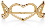Jordan Askill Yellow Gold Triple Heart Ring